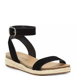 Lucky Brand Garston Espadrille Sandals Black 8.5M
